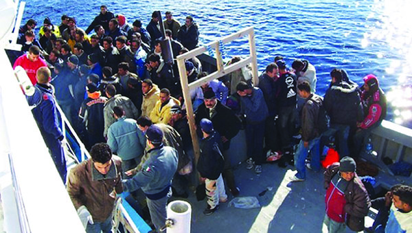 Europe Squabbles While Refugees Die