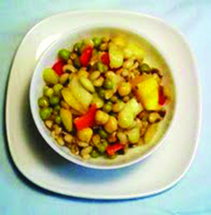 Lima and Butter Bean Salad