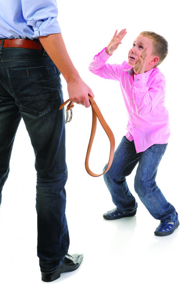 Dad about to spank child -- © Can Stock Photo Inc