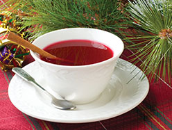 Teacup of cinnamon and cranberry tea. Photo: i© Can Stock Photo Inc