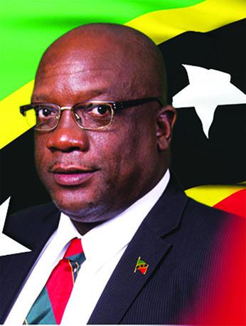 St. Kitts-Nevis Prime Minister, Dr. Timothy Harris.