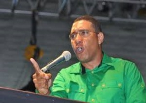 JLP Leader, Andrew Holness.