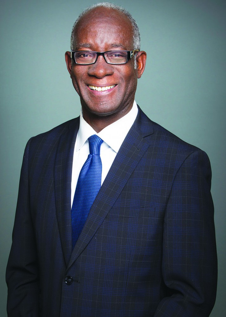 Haiti-born Quebec politician, Emmanuel Dubourg.