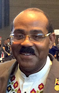 Antigua and Barbuda Prime Minister, Gaston Browne.