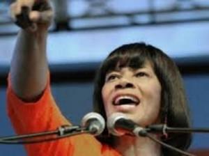 PNP Leader, Portia Simpson Miller.