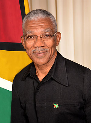 Guyana President David Granger. Photo credit: GINA.