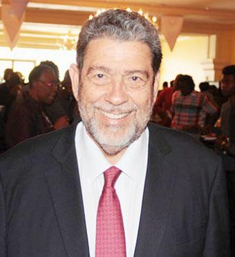 St. Vincent PM, Dr. Ralph Gonsalves.