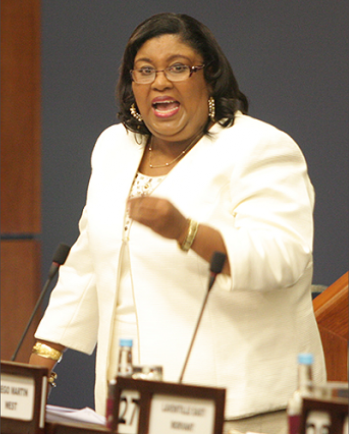 T&T Housing Minister Marlene McDonald.