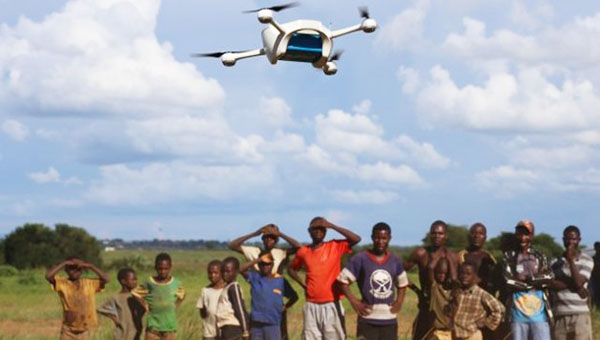 Saving Children's Lives In Africa Through Drones