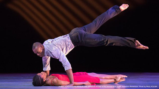 "Jamar Roberts and Jacqueline Green in ""A Case of You"". Photo by Paul Kolnik."