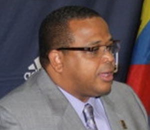 Caribbean Football Union, President, Gordon Derrick. Photo credit: Caribbean News Media.