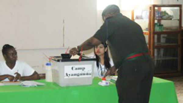 Guyana's Security Forces Voting Today In Local Government Elections