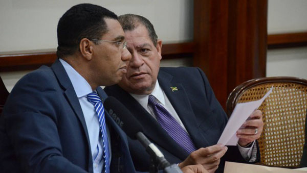 Jamaica PM Presents New Code Of Ethics To The Country's Ministers
