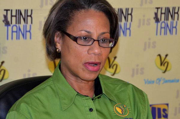 Executive Officer (CEO) of the Companies Office of Jamaica (COJ), Judith Ramlogan. Photo credit: JIS/Mark Bell.