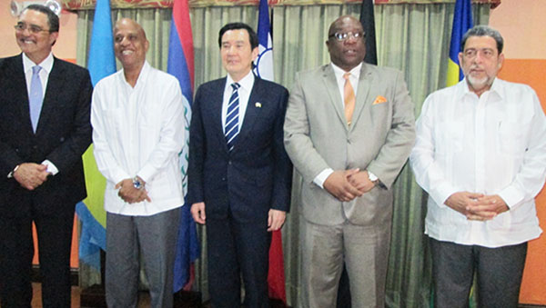 National Security Dominates St. Lucia Prime Minister's Meeting With Outgoing Taiwan President