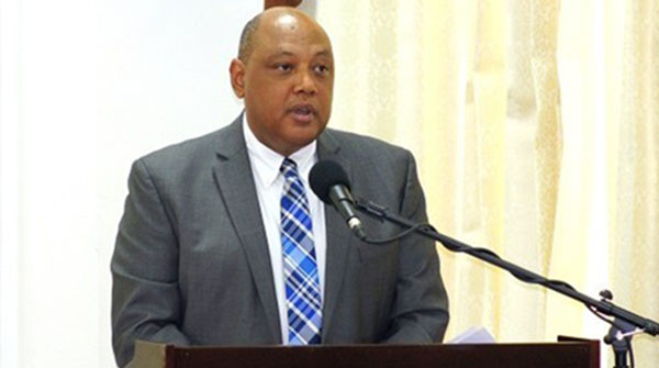 Guyana's Natural Resources Minister, Raphael Trotman.