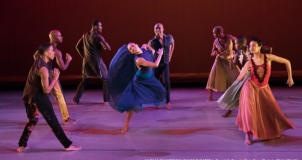 Alvin Ailey American Dance Theater Exemplifies The Language Of Dance