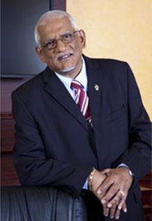 St. Augustine Campus Principal, Professor Clement Sankat. Photo credit: UWI.