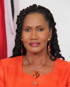 The Minister of Labour and Small Enterprise Development, Senator the Honourable Jennifer Baptiste-Primus. Photo credit: T&T government.