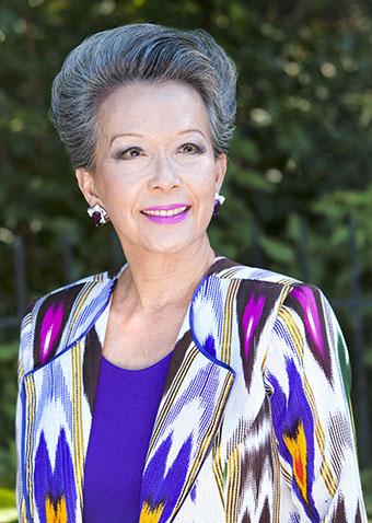 Hon Kong-born, retired Canadian senator, Vivenne Poy.