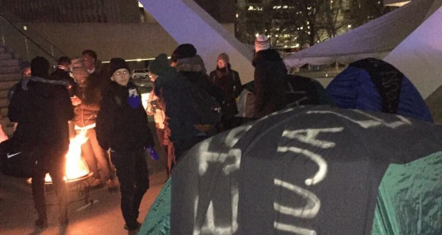 Black Lives Matter Toronto Protesters Demand Justice For Andrew Loku