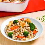 Protein-rich, Easy-to-make, Roasted Vegetable Casserole