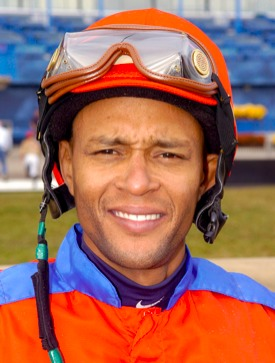 Ace Barbadian jockey, Patrick Husbands. Photo courtesy of Woodbine Racetrack.