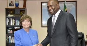 Dominica Prime Minister Welcomes US Ambassador