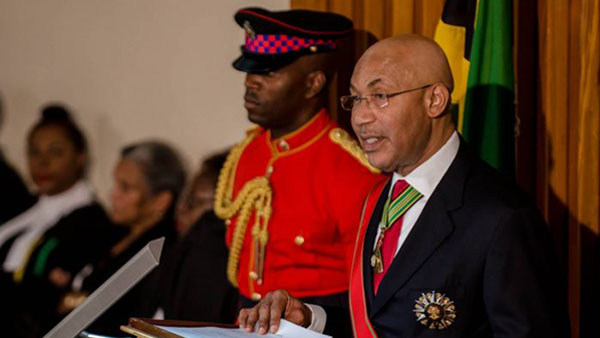 Governor General Outlines Priorities Of Jamaica Government In Throne Speech