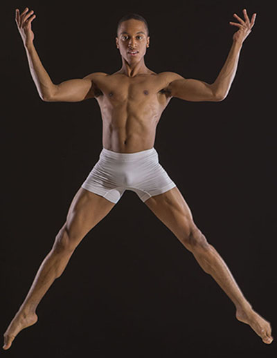 "Shakeil Rollock, one of the dancers of ""Testosterone."" Photo courtesy of Shakeil Rollock."