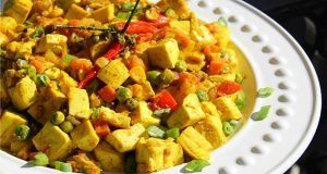 Vegetarian Curry Tofu