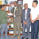 Report On Constitutional Reform Handed Over To Guyana Government