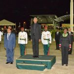 Jubilee Fever Descends On D'urban Park: Thousands Witness Guyana's 50th Independence Anniversary Flag Raising Ceremony
