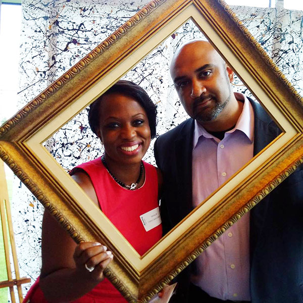 Celina Caesar-Chavannes and her husband, Vidal. Photo contributed.