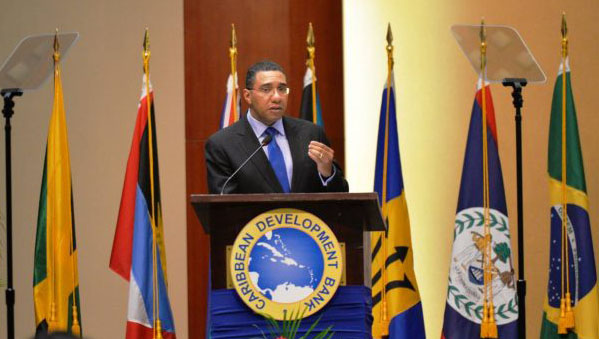 Jamaica PM Calls For Debt For Policy Swap Initiative For The Region