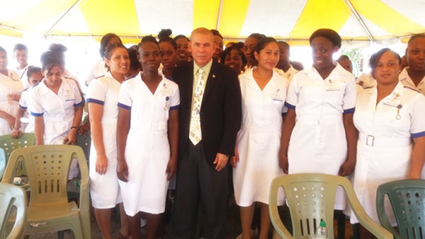 Nurses' Role In Improving Guyana's Health Systems' Resilience Underscored