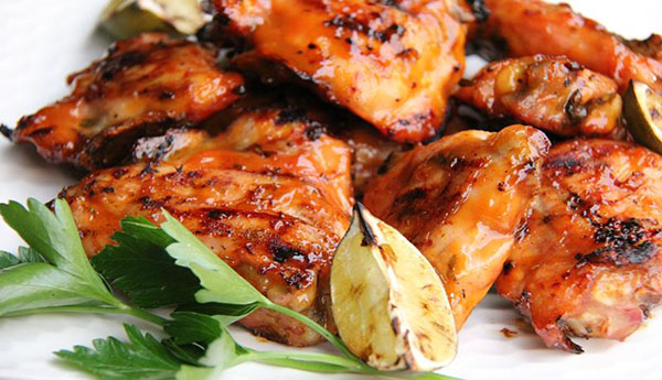 Kickin' Grilled Orange Chicken