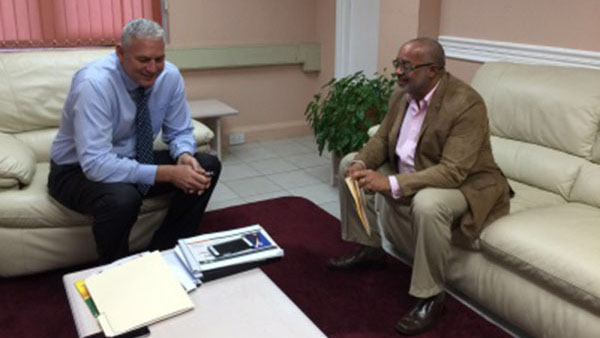 St. Lucia's New PM Meets With The Organisation Of Eastern Caribbean States' Director General