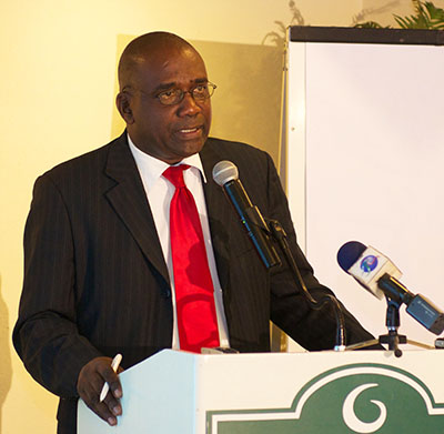 Grenada's Planning and Economic Affairs Minister, Oliver Joseph.