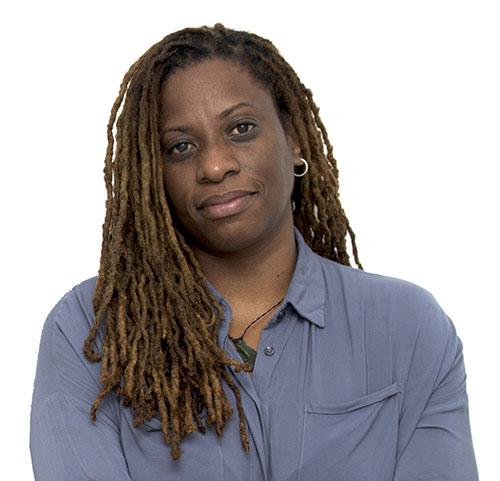 Lisa Harewood, award-winning Caribbean filmmaker. Credit: Russell Watson.