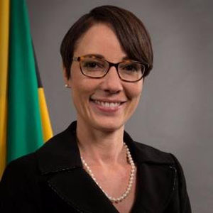 Jamaica's Foreign Affairs and Foreign Trade Minister, Senator Kamina Johnson Smith. Photo credit: JIS.