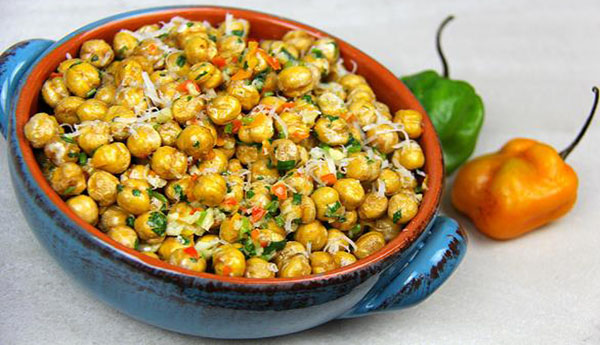 Fried Channa (Spicy Chickpeas Snack)