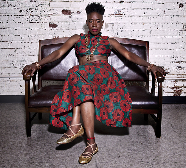 d'bi.young anitafrika is also the artistic director of The Watah Theatre. Photo credit: Anthony Macri.