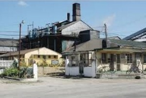 The Long Pond sugar factory.