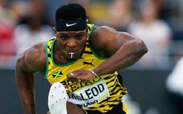 Jamaican hurdler, Omar McLeod, sails to Olympic victory in 13.05 seconds. Photo credit: CMC.