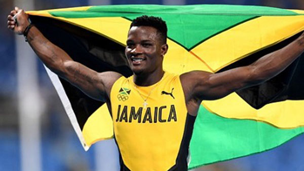 McLeod Wins Jamaica's First Olympic Sprint Hurdles Gold Medal