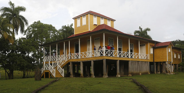 Fidel Castro's childhood home, now the Castro Ruz family museum, in the eastern village of Biran, Cuba. Photo credit: Jorge Luis Baños/IPS.