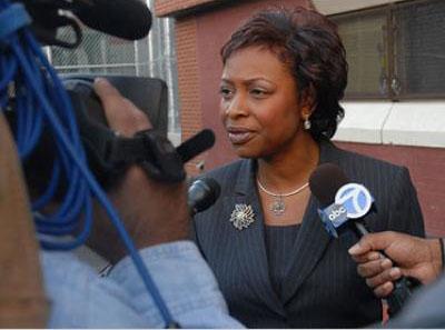 US Congresswoman, Yvette D. Clarke.