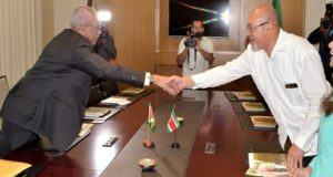Guyana And Suriname Leaders End One Day Summit