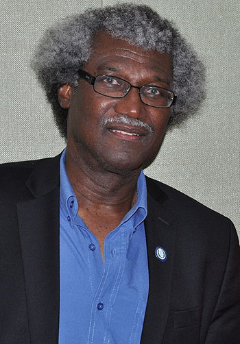 Sir Dwight Venner, seen on May 23, 2014. Photo credit: User:Caribbeanbio/https://commons.wikimedia.org. This file is licensed under the Creative Commons Attribution-Share Alike 3.0 Unported license.